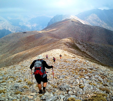 CHANIA  Hiking, climbing, biking, caving